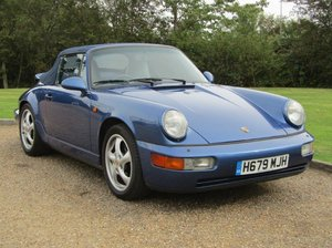 Picture of 1991 Porsche 911 C2 Cabriolet Auto at ACA 7th November  For Sale by Auction