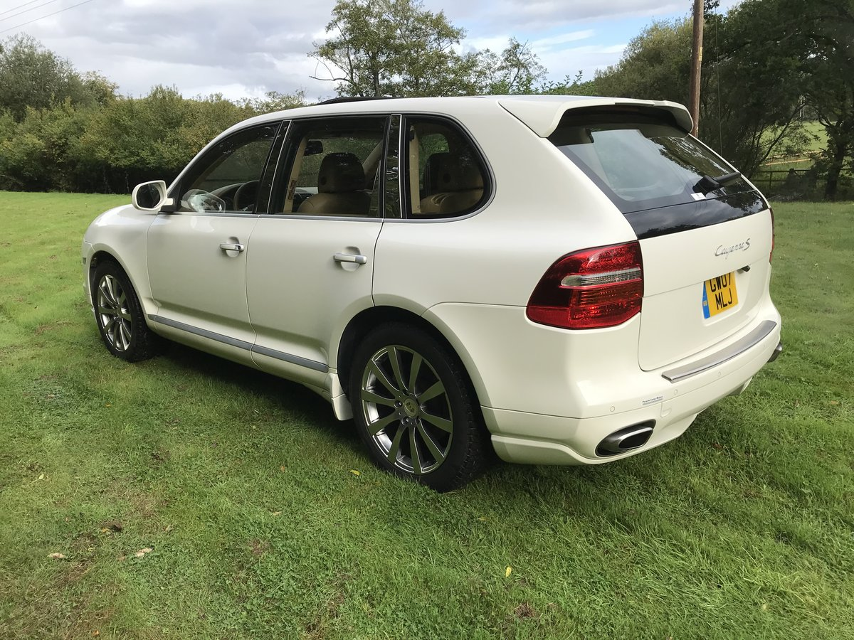 2007 Porsche Cayenne 4.8 S Left Hand Drive For Sale (picture 3 of 6)