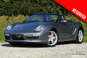 RESERVED - Porsche 987 Boxster S manual