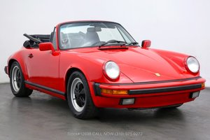 Picture of 1987 Porsche Carrera Cabriolet