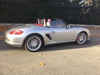Boxster RS60 Spyder Limited Edition