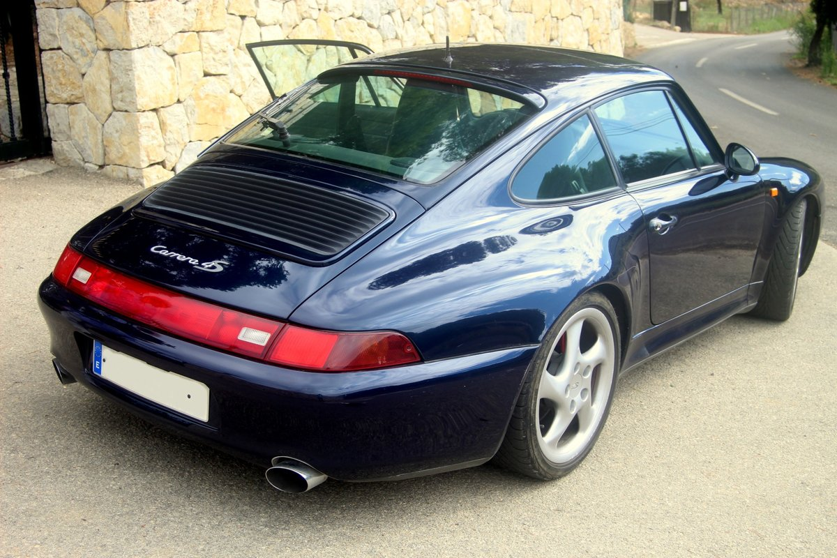 1996 LHD PORSCHE 993 CARRERA 4 S COUPE For Sale (picture 1 of 6)