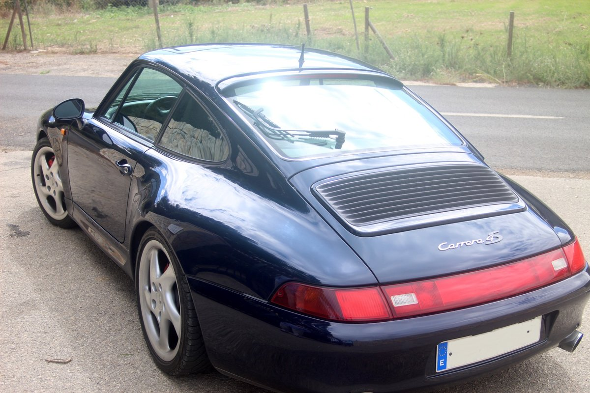 1996 LHD PORSCHE 993 CARRERA 4 S COUPE For Sale (picture 2 of 6)