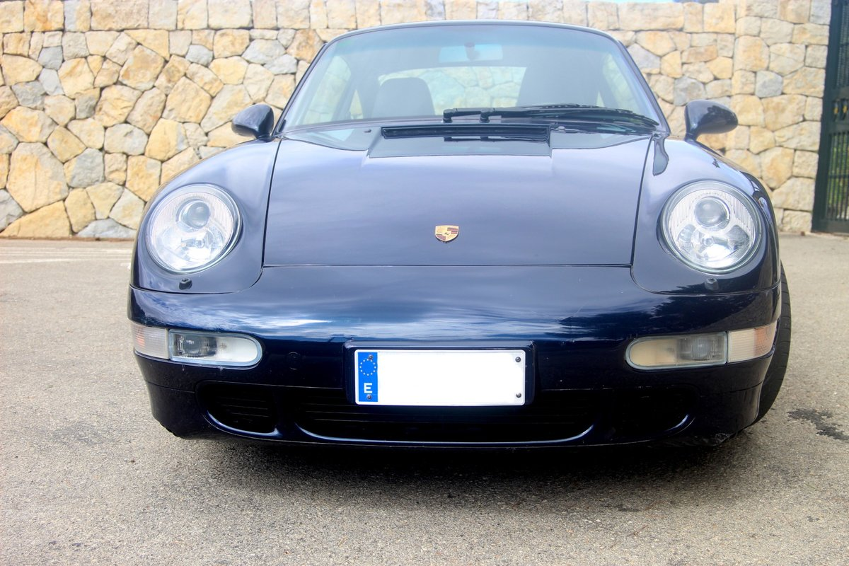 1996 LHD PORSCHE 993 CARRERA 4 S COUPE For Sale (picture 3 of 6)