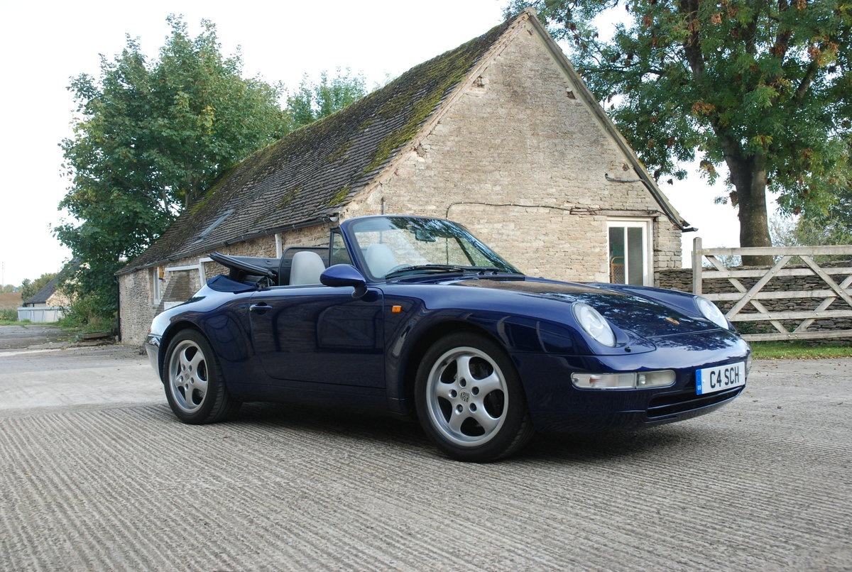 1995 Porsche 911 993 C2 Tip Convertible For Sale (picture 1 of 6)