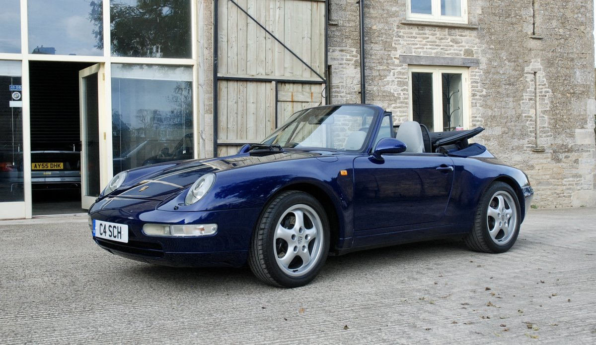 1995 Porsche 911 993 C2 Tip Convertible For Sale (picture 2 of 6)