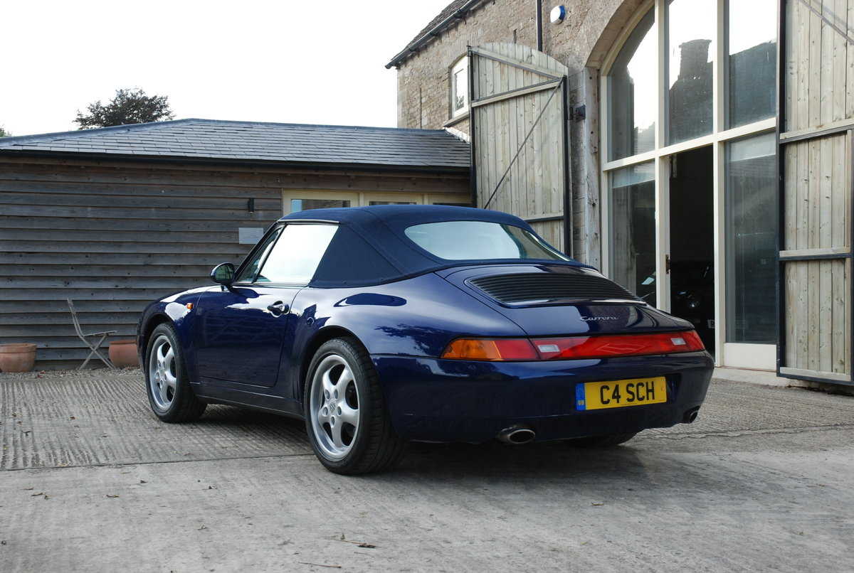 1995 Porsche 911 993 C2 Tip Convertible For Sale (picture 3 of 6)