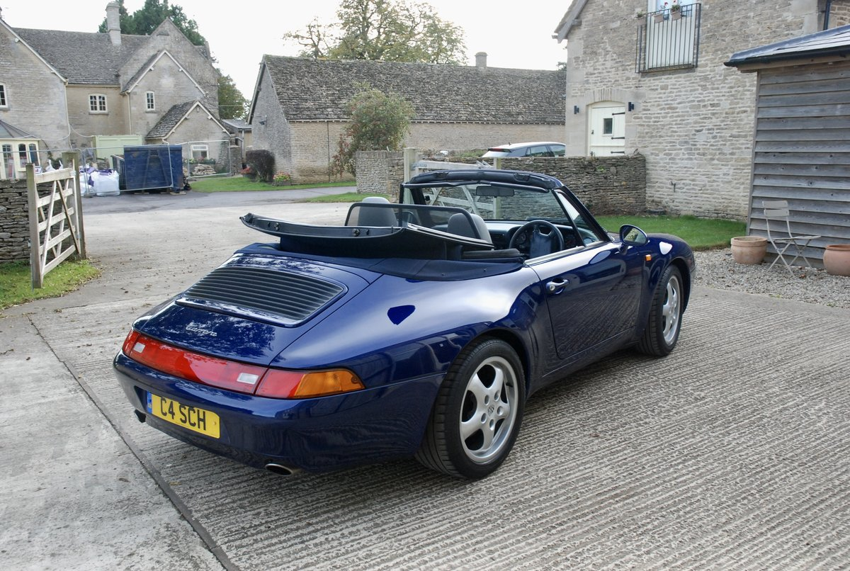1995 Porsche 911 993 C2 Tip Convertible For Sale (picture 4 of 6)