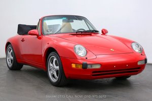 Picture of 1996 Porsche 993 Cabriolet