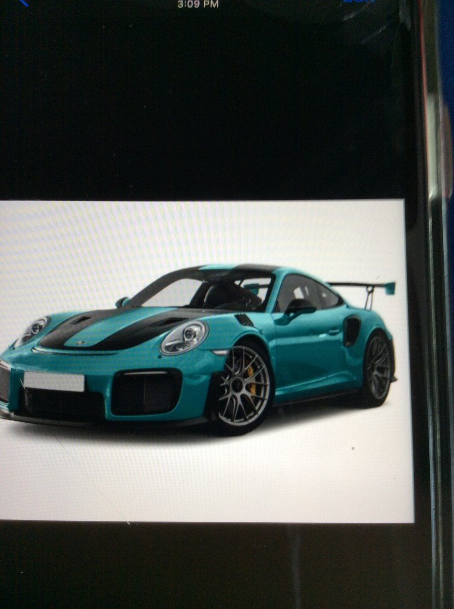 Wanted Porsche GT2 RS 2018 for island Even Trade (picture 1 of 6)