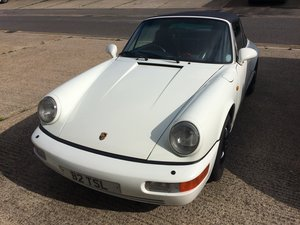 Picture of Porsche 964 Carrera 4 Targa 1993 WHITE