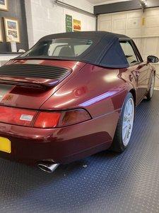 Picture of 1996 Porsche 993 C4 Cabrio