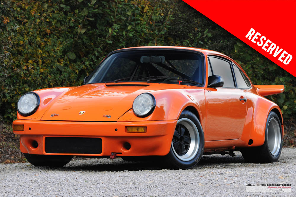 1974 RESERVED - Porsche 911 3.0 Group 4 Rally/Race (FIA) LHD For Sale (picture 1 of 6)