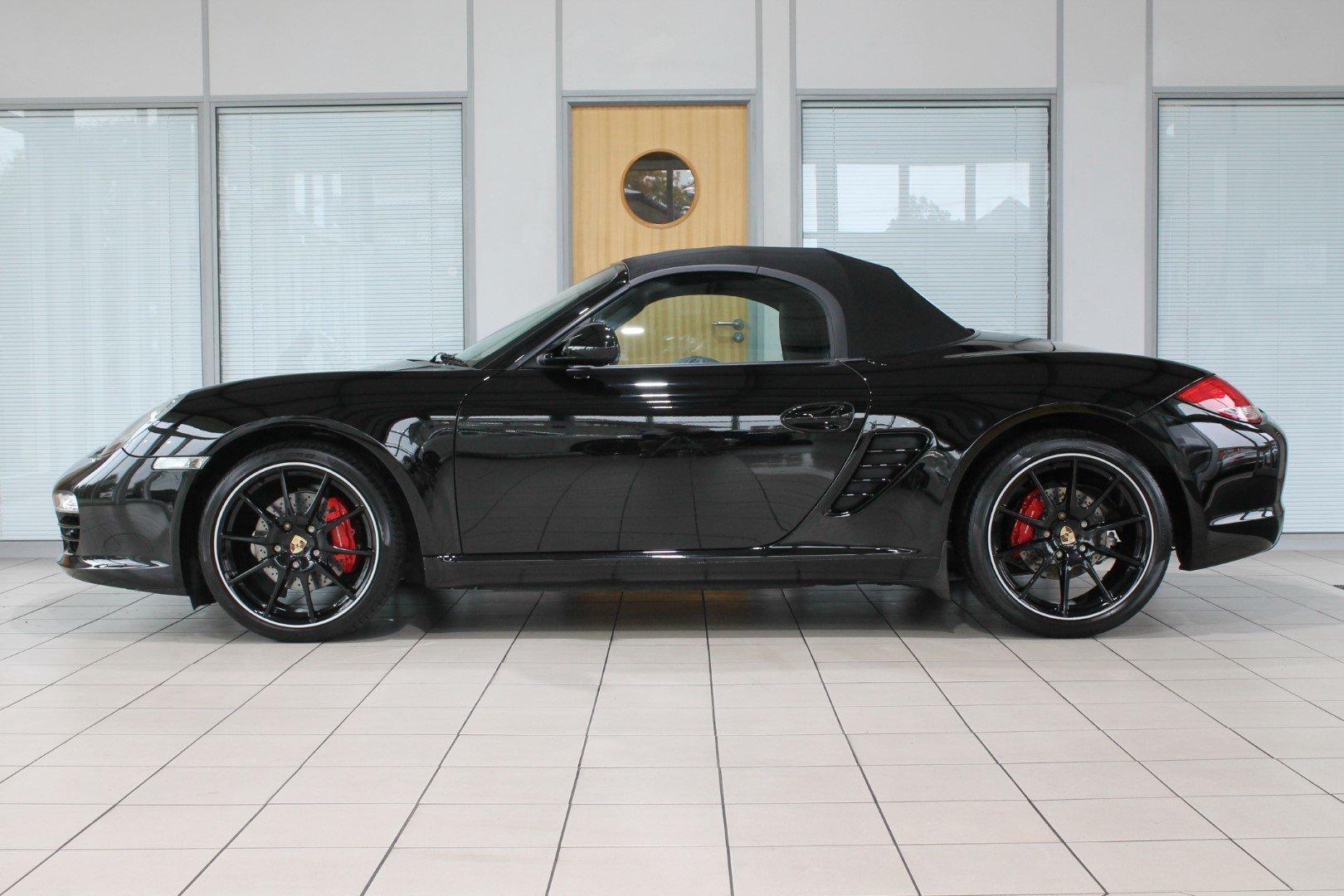 2011 Porsche Boxster (987) 3.4 S Black Edition Manual For Sale (picture 2 of 12)