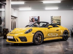 Picture of 2019 Porsche 911 Speedster  For Sale by Auction