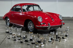 Picture of 1962 Porsche 356B T5 Coupe (RHD) - Multiple Concours Winner For Sale by Auction