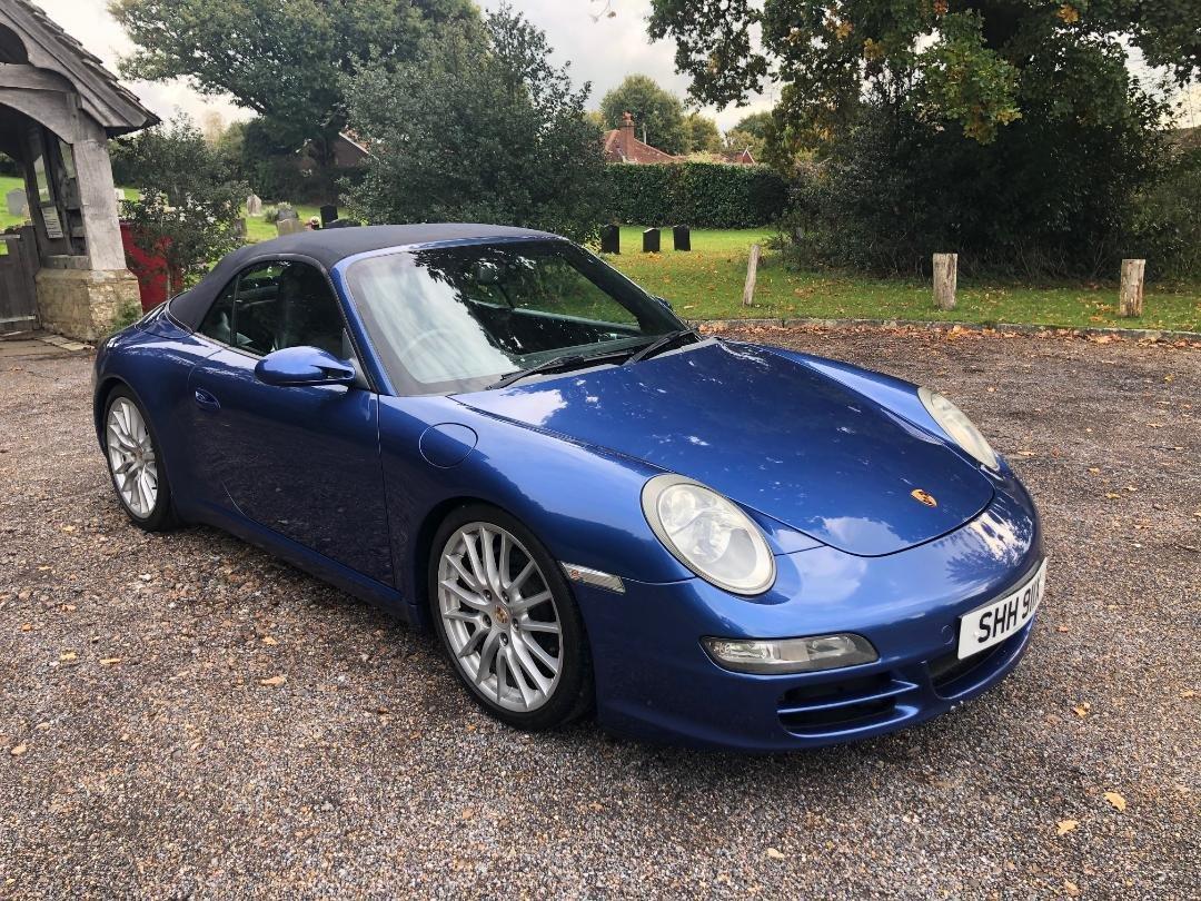 2007 Porsche 911 (997) cabriolet manual 3.6 rare For Sale (picture 3 of 6)