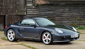 Porsche 987 Cayman S 3.4 Manual 295 bhp