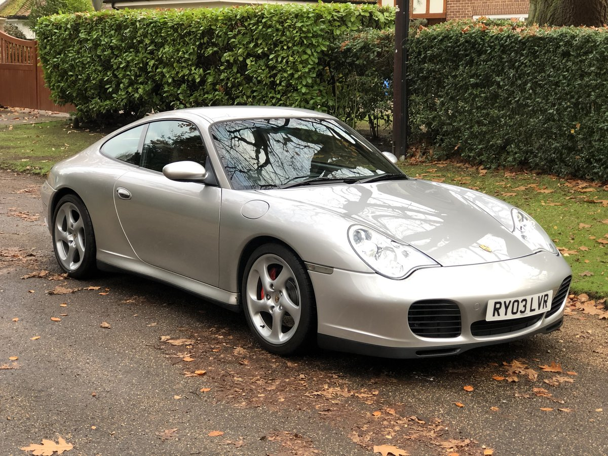 2003 An Immaculate 996 C4S For Sale (picture 1 of 6)