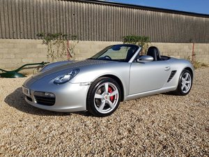2006 Porsche Boxster S 3.2 Manual - 54k, new service+clutch