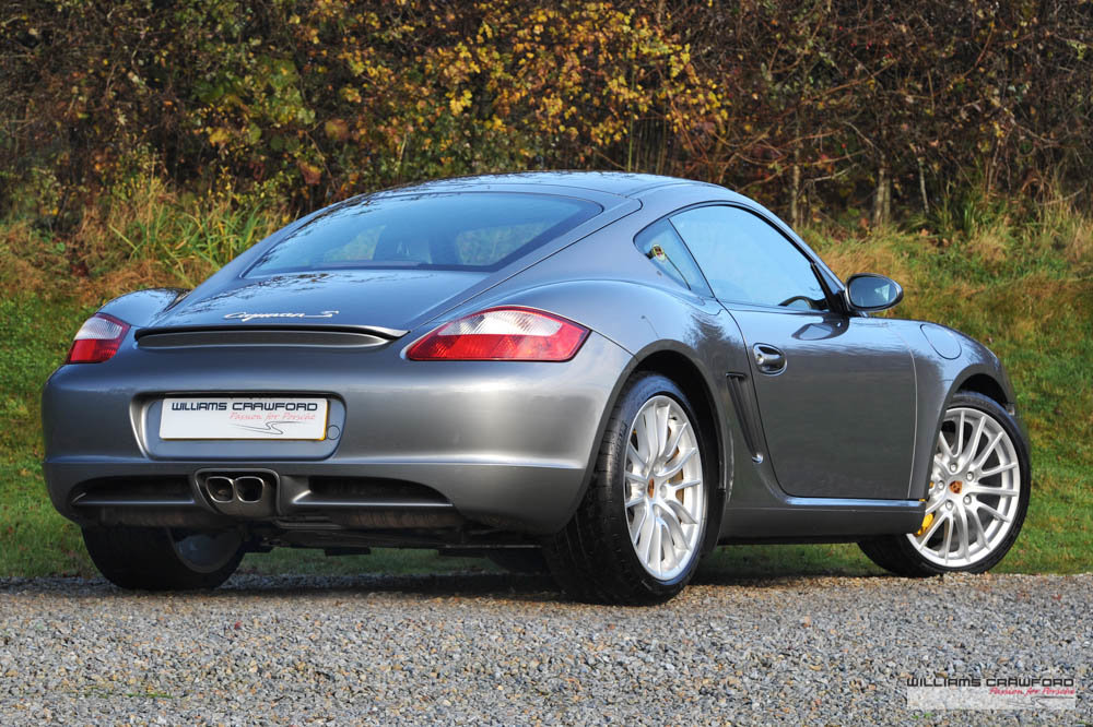 2006 Porsche 987 Cayman S manual with PCCB SOLD (picture 3 of 6)