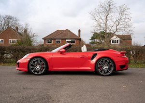 Picture of 2014 Porsche 911  991 Turbo Cabriolet SOLD by Auction