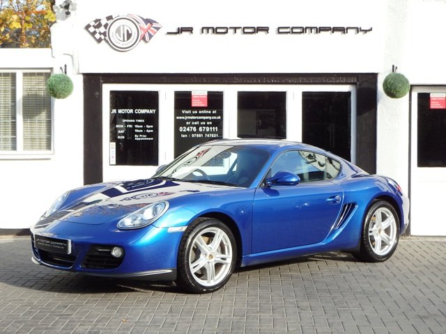 2009 Porsche Cayman 2.9 Manual Aqua Blue Only 49000 Miles! SOLD (picture 1 of 6)