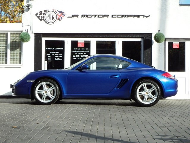 2009 Porsche Cayman 2.9 Manual Aqua Blue Only 49000 Miles! SOLD (picture 2 of 6)