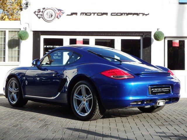2009 Porsche Cayman 2.9 Manual Aqua Blue Only 49000 Miles! SOLD (picture 3 of 6)
