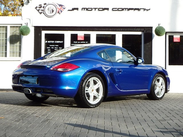 2009 Porsche Cayman 2.9 Manual Aqua Blue Only 49000 Miles! SOLD (picture 5 of 6)