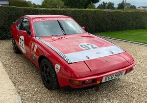 Porsche 924 HSCC 70's Second Overall