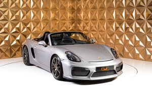 Picture of 2015 Porsche Boxster Spyder For Sale