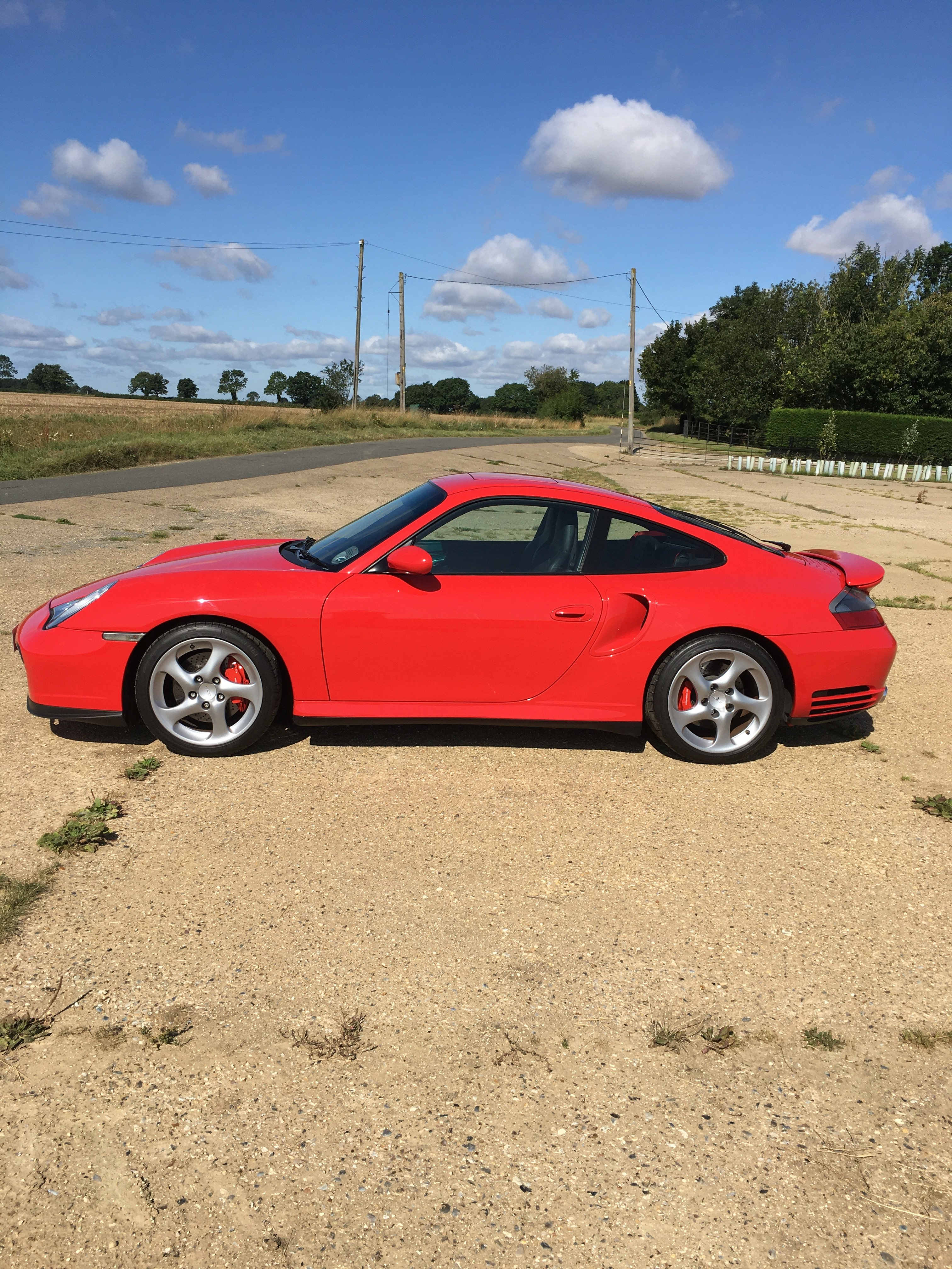 Porsche 996 Turbo Only 13000 Miles From New
