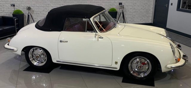 Picture of Porsche 356B Cabriolet 1960 Absolutely Pristine! For Sale