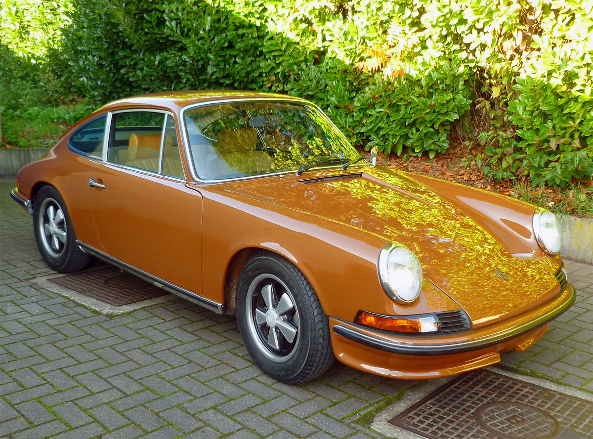 1973 Porsche 911 T 2.4 Coupe For Sale (picture 1 of 6)