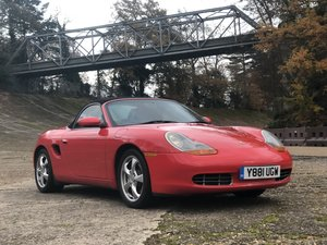Picture of 2001 Porsche Boxster 2.7 Manual Immaculate Condition SOLD