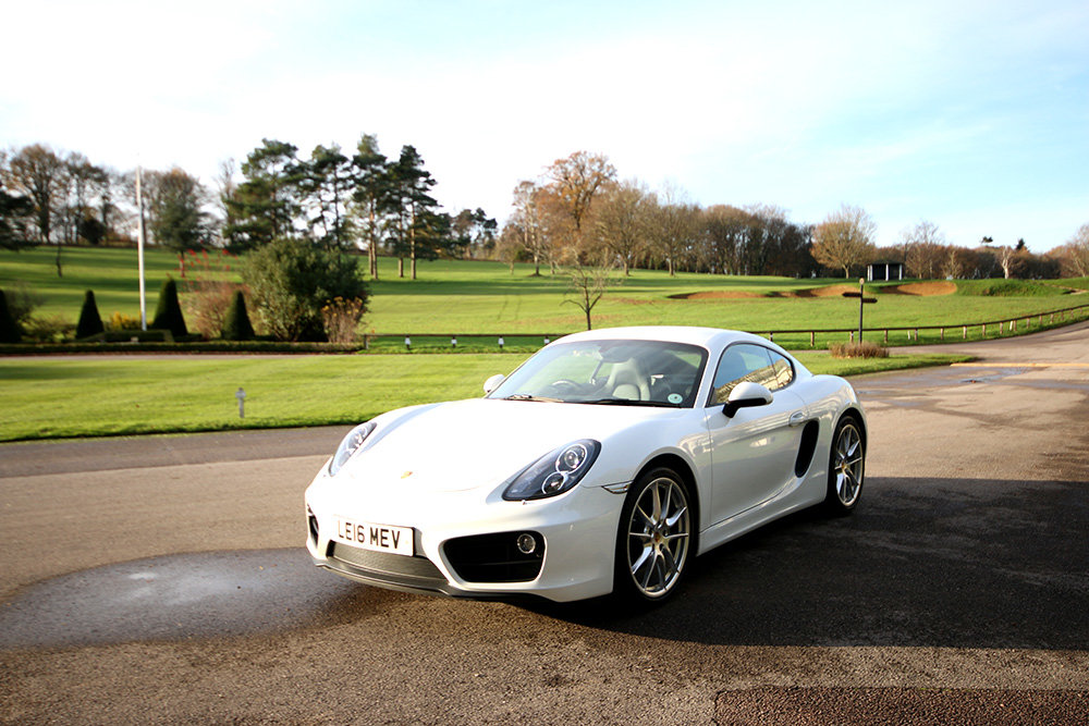 Porsche Cayman, 2016 (981) PDK, White, Semi Auto 4,300 Miles For Sale (picture 5 of 6)
