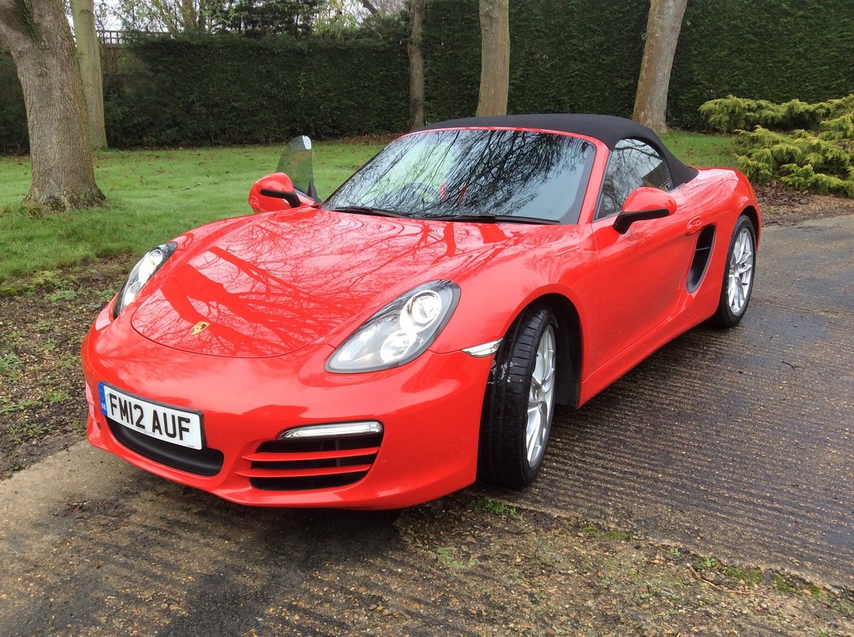 2012 Superb Condition Boxster- Possible Future Classic For Sale (picture 1 of 5)