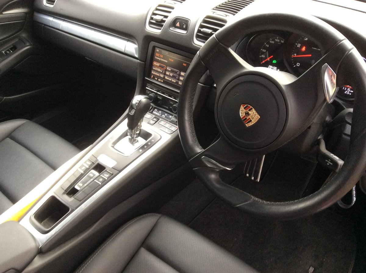 2012 Superb Condition Boxster- Possible Future Classic For Sale (picture 2 of 5)