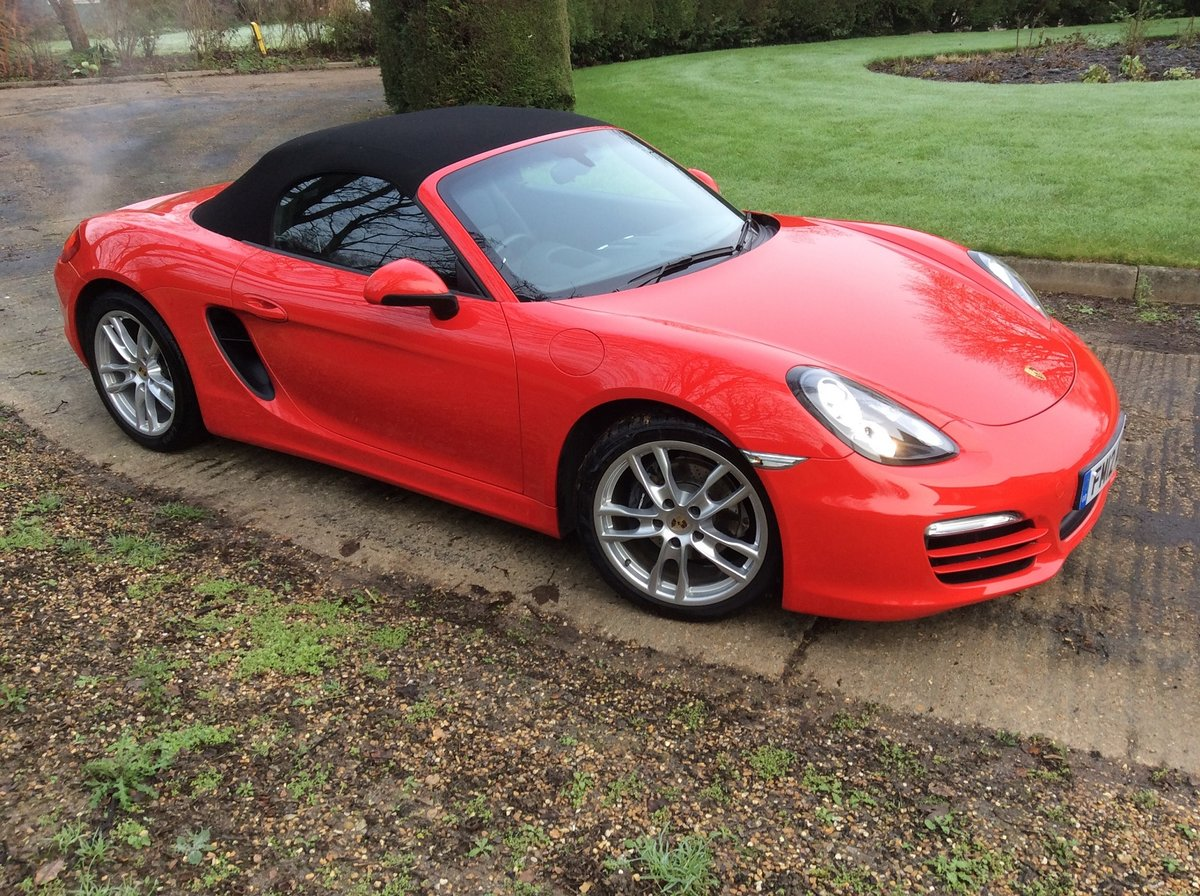 2012 Superb Condition Boxster- Possible Future Classic For Sale (picture 3 of 5)