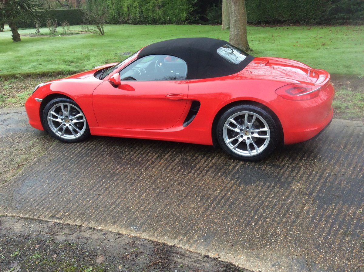2012 Superb Condition Boxster- Possible Future Classic For Sale (picture 4 of 5)