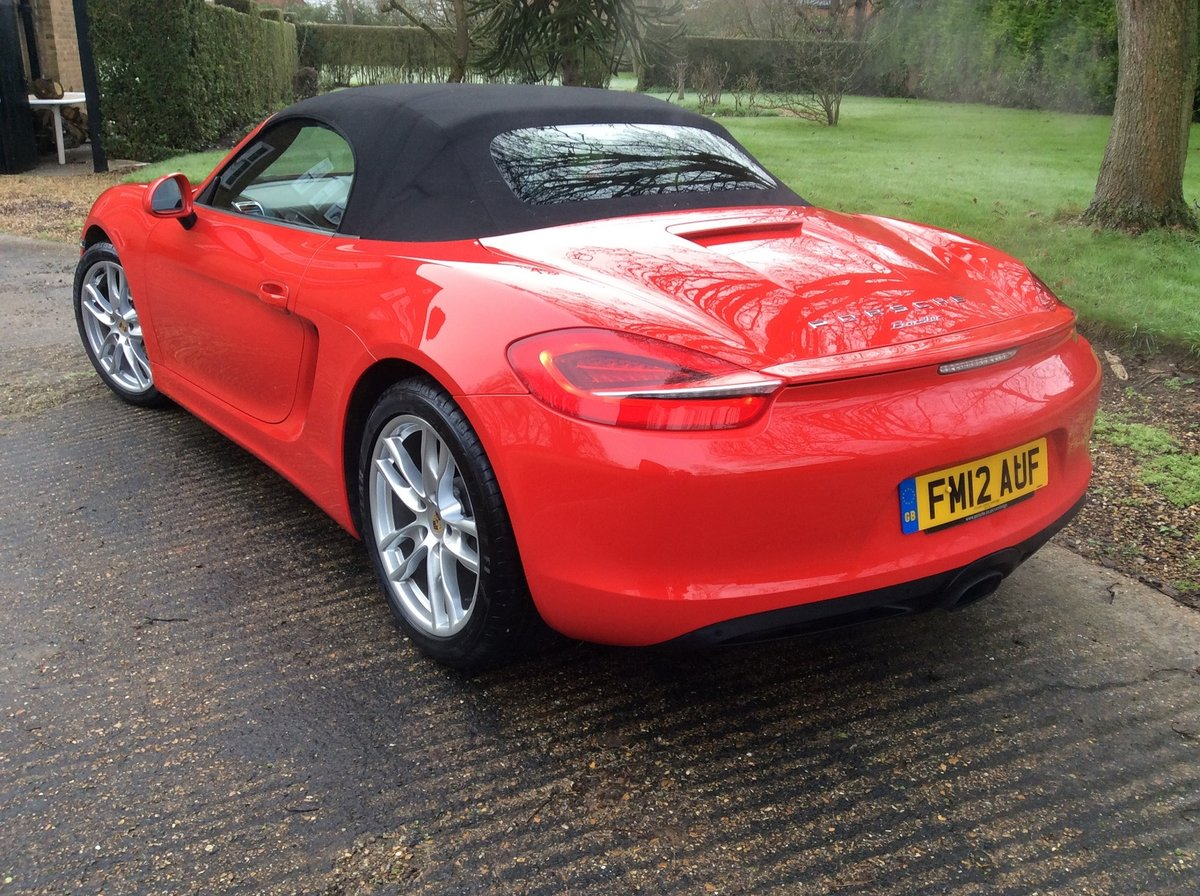 2012 Superb Condition Boxster- Possible Future Classic For Sale (picture 5 of 5)