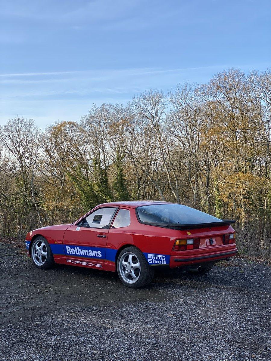 1986 Porsche 944 Rothmans Race Car For Sale (picture 2 of 6)