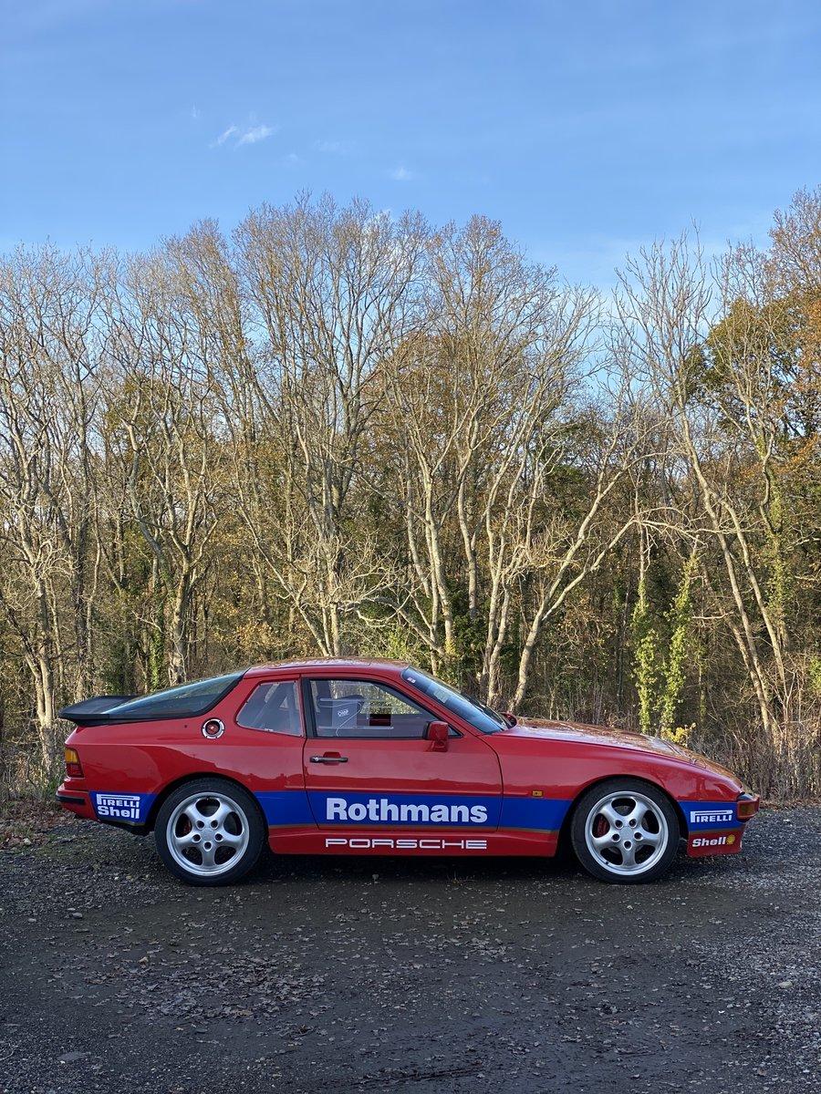 1986 Porsche 944 Rothmans Race Car For Sale (picture 3 of 6)