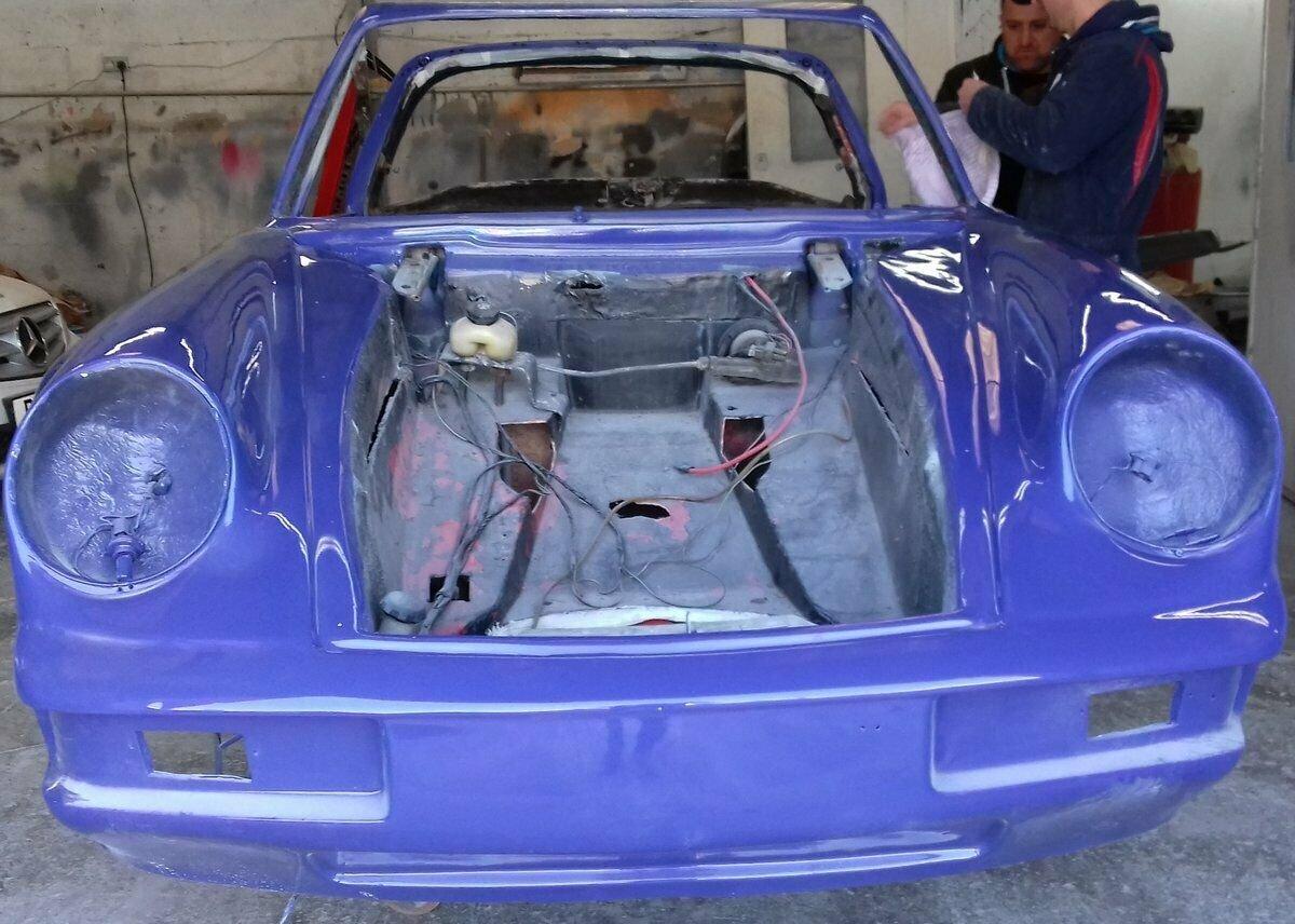 1985 Replica Porsche 911 Turbo body For Sale (picture 12 of 12)