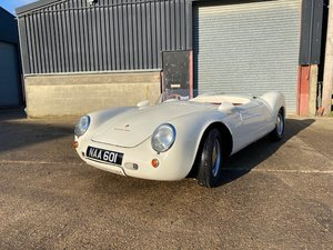 Porsche 550 Spyder evocation by Banham