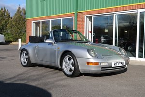 Picture of 1997 911 993 Cabriolet Varioram Low Mileage RHD For Sale