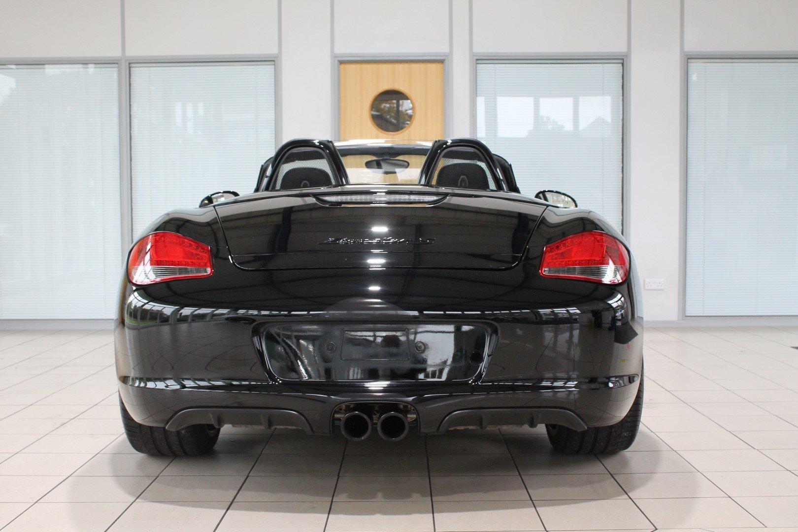 2011 Porsche Boxster (987) 3.4 S Black Edition Manual For Sale (picture 8 of 12)