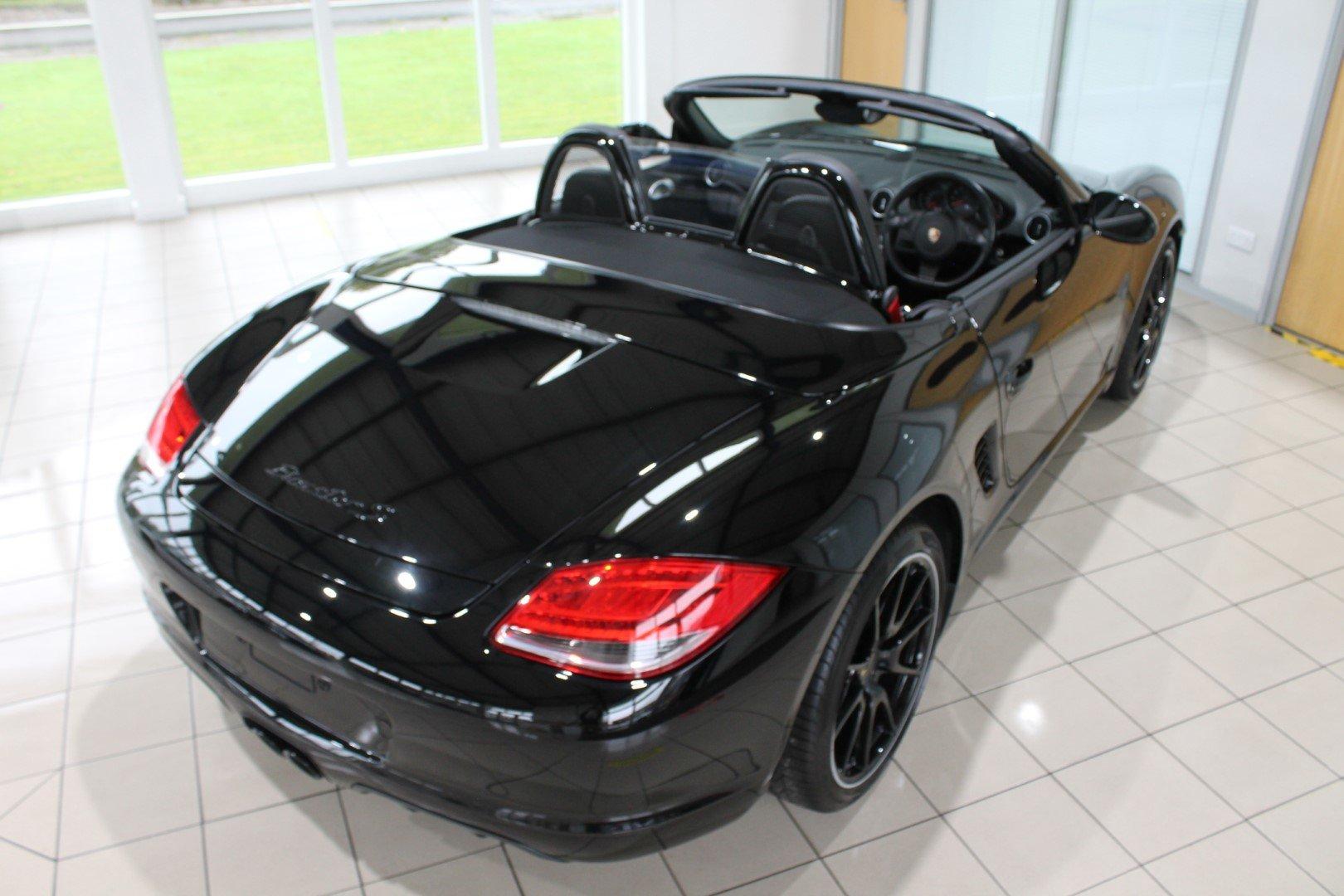2011 Porsche Boxster (987) 3.4 S Black Edition Manual For Sale (picture 9 of 12)