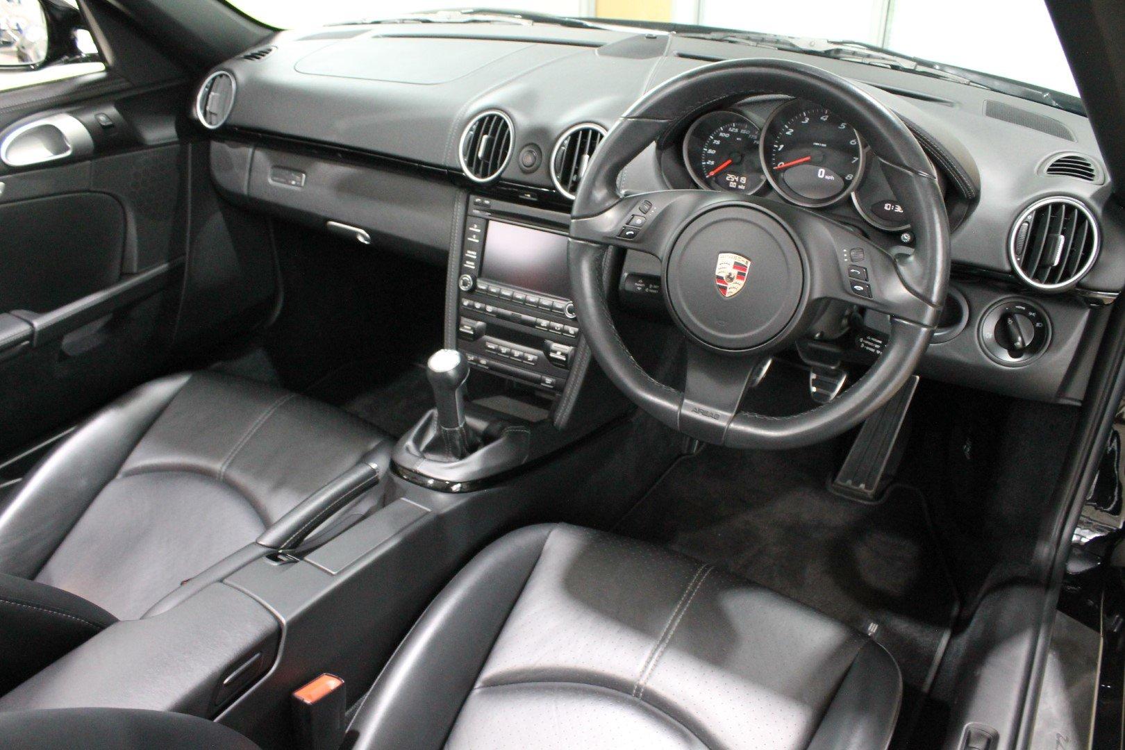 2011 Porsche Boxster (987) 3.4 S Black Edition Manual For Sale (picture 11 of 12)